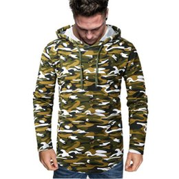 bape belts NZ - Man Camouflage Hooded Sweatshirt Fashion Trend New Long Sleeve Casual Hoodies Designer Male Spring Autumn Belt Hooded Pullover Clothes