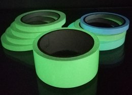 tape glow NZ - New Office 15mm x 3M Roll Luminous Tape Self-adhesive Glow In The Dark Safety Stage Home Decorations Warning Tape 2016