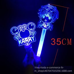 concert light rod UK - Wang Junkai stick acrylic light plate concert cheering props star fans Club stick Fluorescent rod fluorescent rod support club