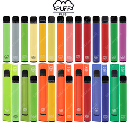 Wholesale Newest PUFF BAR PLUS 800+Puffs Disposable Vape Pen 550mAh Battery 3.2ml Pods Cartridges Pre-Filled e Cigs Limited Edition Vaporizers Device