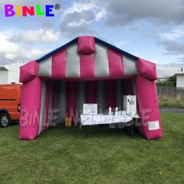 Wholesale carnival fun for sale – halloween Bright and fun m inflatable carnival shop store tent inflatable stall carnival tent Inflatable Concession Stand for sale