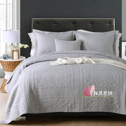 quilts for twin size beds Australia - Bedding Set Luxury Queen King Size Bed Set Quilt Duvet Cover Linens And Pillowcase For Single Double Bedclothes