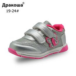 spring hooks Australia - Apakowa Spring Autumn Girls Sports Shoes Kids Breathable Sneakers for Toddler Girl Children's Infant Hook&Loop Outdoor Footwear T200709