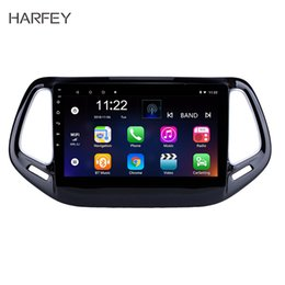 "compass for android Canada - Harfey for 2017 Jeep Compass Head Unit GPS Navigation Android 10.0 10.1"" USB Mirror Link Bluetooth WIFI Support DVR OBD2 SWC"