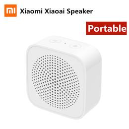 Xiaoai Öğrenci uygulamasıyla Hoparlör Çalışma Şarj Xiaomi Xiaoai Taşınabilir Hoparlör Bluetooth 5.0 Kablosuz Bağlantı Hoparlör Tipi-c