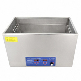 digital ultrasonic cleaning machine Canada - 100AL 30L Digital Display Ultrasonic Cleaner Temperature Adjustable 40KHz 800W Ultrasonic Cleaning Washing Machine VE6B#
