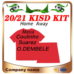 messi kid jerseys 2021 - 2020 #10 MESSI kids kit home Soccer Jersey 20 21 SUAREZ GRIEZMANN F. DE JONG Child Soccer Shirt ARTHUR O.DEMBELE Football uniforms