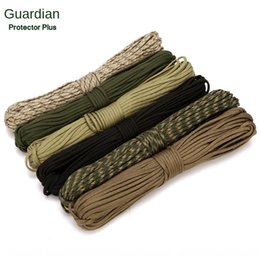 umbrella packing UK - 7-core umbrella tent braided outdoor binding packing rope braided rope clothesline tent drawstring outdoor equipment