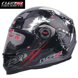 motorcycle helmets ls2 Canada - LS2 FF358 Full Face Motorcycle Helmet Casco Moto Man Woman Helmet Removable Lens capacete ls2 Multi-colored