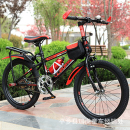 Supply Children A Mountain Country Vehicle Bicycle 20 Inch 22 Inch Wrong Variable Speed Student Bicycle Gift Bicycle on Sale