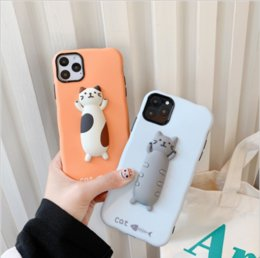 design 3d handy fall großhandel-NEU IN CAT D speziellen Design für IPHONE7 PRO PHONE MAX CELL CASE FITTED FALL UND DIR RISTANT FALLPROOF SILICONE2COLOUR