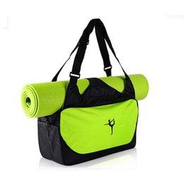 ABD Stok Yoga Tote Çanta Yüksek kaliteli su geçirmez spor sırt çantası spor salonu ve Pilatus Egzersizleri seyahat