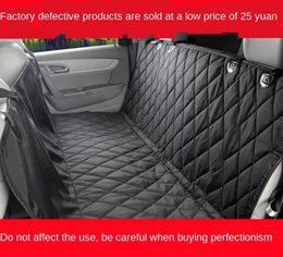 pet figures UK - Defective pet car rear row dog mat thickened bite-resistant car dog mat does not affect the use of 25 yuan