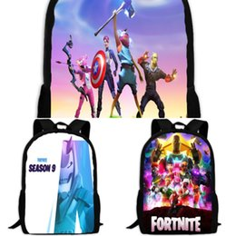 women canvas lace backpacks UK - backpack school male for fortnite teenage backpack canvas travel fortress night girls women computer bag high school student bag bags f NvAI0