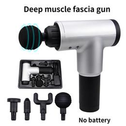 Venta al por mayor de Músculo de la alta calidad del masaje pistola masaje profundo ejercicio de relajación de la carrocería fascial arma de alivio del dolor que adelgaza formando