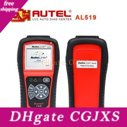 autel obdii scan tool UK - 2017 Top -Rated 100 %Original Autel Autolink Al519 Obdii Eobd &Can Scan Tool Support Online Update Free Shipping
