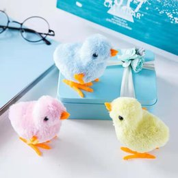 baby chick toy wholesale UK - Simulation chicks will run children's toys men and women baby kids mini plush small toy doll gifts 002
