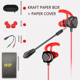 earbuds for computer UK - Best wheat game headset for PUBG Mobile Earphones Earbuds 3.5mm Universal Wired In-ear Headphone for Huawei Samsung LG Computer