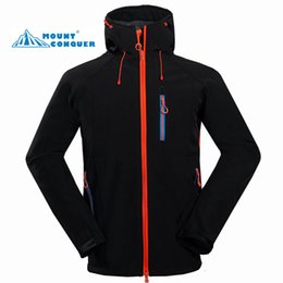 Wholesale windbreaker shell for sale – winter High Quality Male Waterproof Windbreaker Men s Soft Shell Jacket Outdoor Hiking or Camping Jacket Breathable for Men