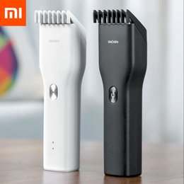 Wholesale Original Xiaomi Youpin ENCHEN Men's Electric Hair Clippers Cordless Adult Razors Professional Trimmers Corner Razor Hairdresse 3031710