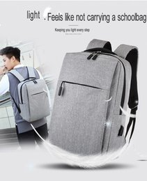 tablet anti theft NZ - Anti-theft Bag Men Laptop Rucksack Backpack Bookbag for School College Student Travel Business with USB Charging Port