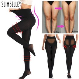 panties leggings UK - New High Waist Shapewear Anti Cellulite Compression Leggings Leg Slimming Body Shaper Tummy Control Tights Panties Thigh Slimmer MX200711