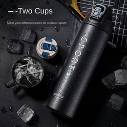 port bottles Australia - cWX2O 316stainless steel outdoor sports portable large capacity thermal insulation Men's Outdoor sports Thermos cup thermos cup Fitness port