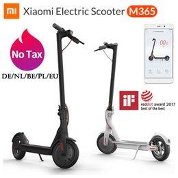 Großhandel Xiaomi Mi Elektro-Scooter Pro M365 Smart-E-Roller-Skateboard Mini faltbare Hoverboard Longboard Adult 30km Batterie AppControl