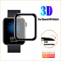 3d smart watch UK - For Xiaomi Smart Watch Protective Film 3D Hot Curved Surface Soft Tempered HD Full Screen Protection FilmAnti-scrat