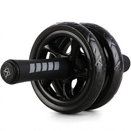 Wholesale Silent Power Roller AB Rollers Indoor Fitness Equipment Abdominal Muscle Exercise Equipment Transparent Double Wheels FY6250