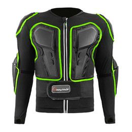 full body protector motocross UK - New 2020 Full Body Motorcycle Armor Jacket Protective Gear Motocross Armor Motorbike Protector Chest Shoulder Protection M-XXL