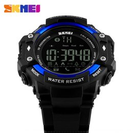 water smart watch NZ - Men's Large dial waterproof outdoor sports remote control Outdoor sports Electronic photo smart watch men's student electronic watch