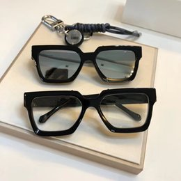 fashion tablet NZ - 2020 Luxury high quality L96006 square fashion design sunglasses frame imported pure tablet prescription glasses complete box UV400