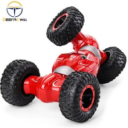 buggy rc car nitro UK - 2020 NEW Q70 RC Car Radio Control 2.4GHz 4WD Twist- Desert Cars Off Road Buggy Toy High Speed Climbing RC Car Kids Children Toys