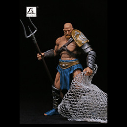 """Wholesale Anime toy figure XesRay 7 inch action figure NO.003 combatants Fight for Glory Branthoc """"Devil Fish"""""""