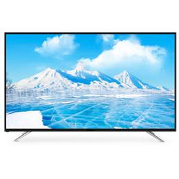 Venta al por mayor de 75 pulgadas Full Frame de aluminio 4K Smart TV