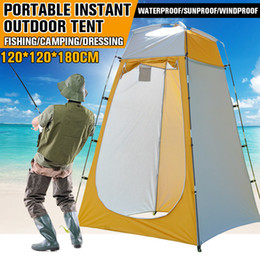 toilet room tent Canada - Portable Outdoor Shower Bath Changing Fitting Room camping Tent Shelter Beach Privacy Toilet tent for outdoor Camping Biking