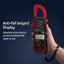 clamp multimeter ac dc Australia - Digital Clamp Multimeter Resistance ohm Tester AC DC Clamp Ammeter Transistor Testers Voltmeter d Contact lcr meter new