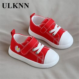 canvas shoes for toddlers Australia - ULKNN Baby Canvas Sneakers For Girls 2020 Autumn New 1-3 Years Old Boys Toddler Shoes Non-Slip First Walkers