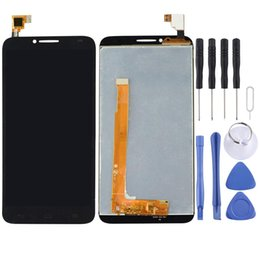 alcatel idol lcd UK - LCD Screen and Digitizer Full Assembly for Alcatel One Touch Idol 2   6037