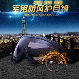 fan goggle NZ - Outdoor Motorcycle goggles riding motorcycle sports goggles X400 windproof sand fans tactical equipment skiing eyes