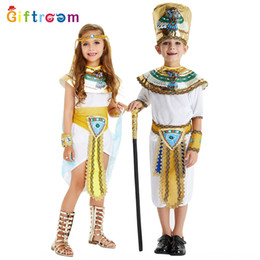 egyptian clothing Australia - Halloween cosplay Egyptian clothes clothescostume stage clothesNile Prince princess stage table costume role-playing imitation party