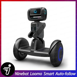 atom camera NZ - 2020 Ninebot LOOMO Advanced Personal Robot Self balancing scooter hoverboard Intel ATOM 4x2.56GHz CPU GPU 1080P Camera smart