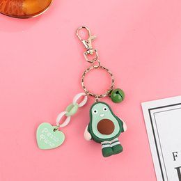 keys bell UK - Creative chainFruit chain New Mini cute fruit series doll key chain love brand Bell key accessories