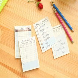 wholesale memo pads UK - 12pack  lot Flower Day Weekly Month Plan Memo Pad Self-Adhesive N Times Sticky Notes Office School Supplie Wholesale cR36#