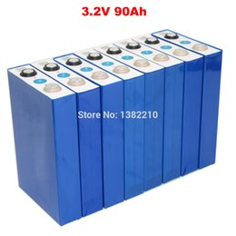 bus pack Australia - 8PCS Lot 3.2V 90Ah LiFePO4 Continuous 270A Discharge for 24V Diy EV RV battery pack with BUS BARS
