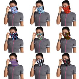 magic ring mans Australia - N8NU3 2020 Designer Face Mask Magic Scarf Men Outdoor Cycling Mask Stock In 10Color#816