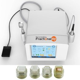 micro needles fractional NZ - Hot sale Wrinkle Removal Cryo&RF Fractional Micro Needle score and shallow face and body skin tightening machine microneedle rf system