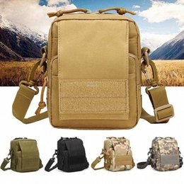 tactical climbing pack Australia - Waterproof Oxford Tactical Shoulder Bag Outdoor Hiking Climbing Hunting Waist Belt Packs Molle Army Crossbody Bags uLzc#