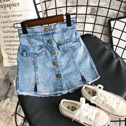 Wholesale loose cut jeans resale online - INS Baby Kids Girl Jeans Shorts PantsNew Arrival Girls Denim Patchwork Shorts Summer Fashion Girls Shorts Years